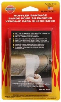 Bandáž na opravu tlumiče výfuku (s kovovou záplatou). 130x5 cm