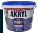 čierna univerzálna farba HET Akryl mat - 3 kg