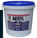 čierna univerzálna farba HET Akryl mat - 12 kg