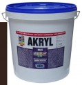 palisandrový univerzálna farba HET Akryl mat - 12 kg