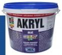 modrá univerzálna farba HET Akryl mat - 3 kg