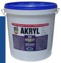 modrá univerzálna farba HET Akryl mat - 12 kg