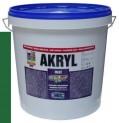 zelená univerzálna farba HET Akryl mat - 12 kg
