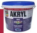 červená univerzálna farba HET Akryl mat - 3 kg