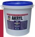 červená univerzálna farba HET Akryl mat - 12 kg