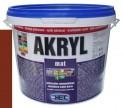 červenohnedá univerzálna farba HET Akryl mat - 3 kg