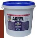 červenohnedá univerzálna farba HET Akryl mat - 12 kg