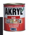 čierna univerzálna farba HET Akryl lesk - 12 kg