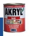 modrá univerzálna farba HET Akryl lesk - 3 kg