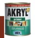 červenohnedá základná antikorózna farba HET Akryl Primer - 3 kg