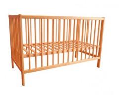 Postýlka dětská dřevěná 120 x 60 x 80 cm