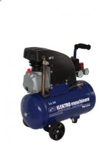 Pístový kompresor ELEKTROmaschinen E241/8/24 230V