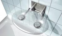 Sprchové sedátko Ravak OVO P clear