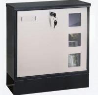 Poštovní schránka COM Design Inox Kombi
