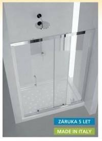 Sprchové dveře SLIDE Maya 135 x 190 (v) cm