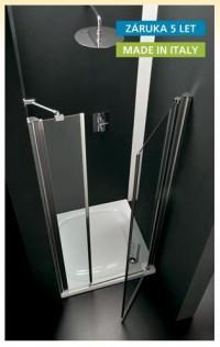 Sprchové dveře AQVA DUO 95 x 190 (v) cm P