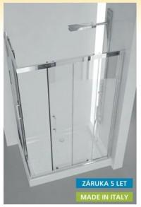 Sprchový kout SLIDE Roma 100 x 190 (v) cm