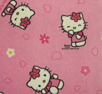 Dětský koberec Hello Kitty růžový 80 x 120 cm