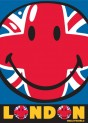Detský koberec Smiley Union Jack Smiley 05, 95 x 133 cm