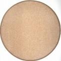 Okrúhly koberec Eton béžový, priemer 200 cm