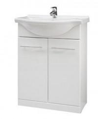 Koupelnová skříňka s umyvadlem REMUS 65