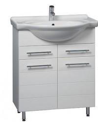 Koupelnová skříňka s umyvadlem STRIPE 75