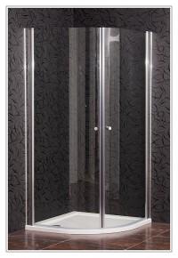 Sprchový kout SKY 90 Clear + vanička STONE za 1,- Kč