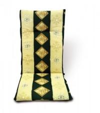 Podsedák na křeslo 115 x 50 x 6 cm zelený