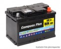 Autobatérie COMPASS PLUS 12V 72Ah 600A