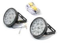 Světla denního svícení kulatá RL hom. 18LED on/off