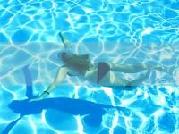 Solární ohřev bazénu Solární plachta CorniSun šíře 150 cm