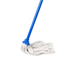 BRILANZ Mop třásňový bavlněný s tyčí