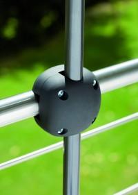 Držák na slunečník FOXI na balkonové zábradlí Schneider patentovaný