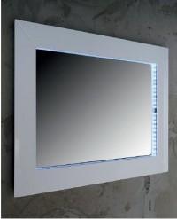 Zrcadlo s LED podsvícením LENA 1200x500 mm