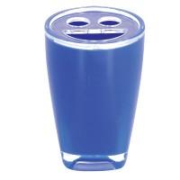 Kelímek na kartáčky a pastu blue