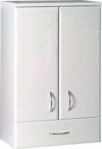 Horní skříňka KERAMIA se zásuvkou 50x76x23 cm bílá