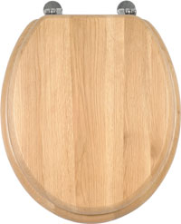 WC sedátko AQUALINE dřevěné dub