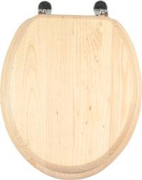 WC sedátko AQUALINE dřevěné borovice