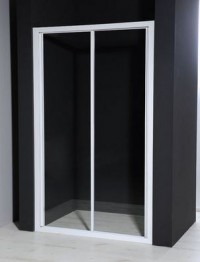 Posuvné sprchové dveře AURELIA do niky 116 až 122 cm
