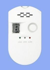 Detektor plynu s alarmem G1 (LPG, zemní plyn a svítiplyn) čidlo Hutermann GAS ALARM varuje při úniku plynu