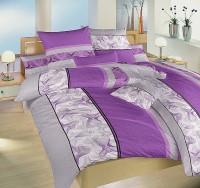 Povlak krep - Medůza fialová 1x 200/200