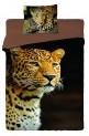 Obliečky bavlna fototlač - Leopard 2013 1x 140 / 200 , 1x 90 / 70