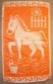 Detský uterák - Koník oranžový