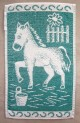 Detský uterák - Koník zelený