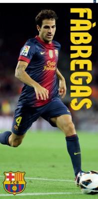 Osuška FC Barcelona - Fábregas 75x150 cm