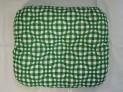 Záhradný sedák - Kocka zelená