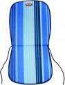 Sedák zahradní 74x37x1,7 cm pruh modrý 4050684