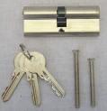 Vložka 40+40 EP nikl - 3x prodloužený klíč 2220043