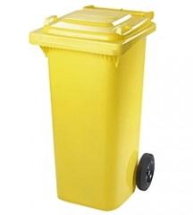 Popelnice MGB 120 l žlutá plast 2440023