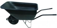 Kolečko zahradní 180 l plné kolo, korba plast, 100 Kg 1060149